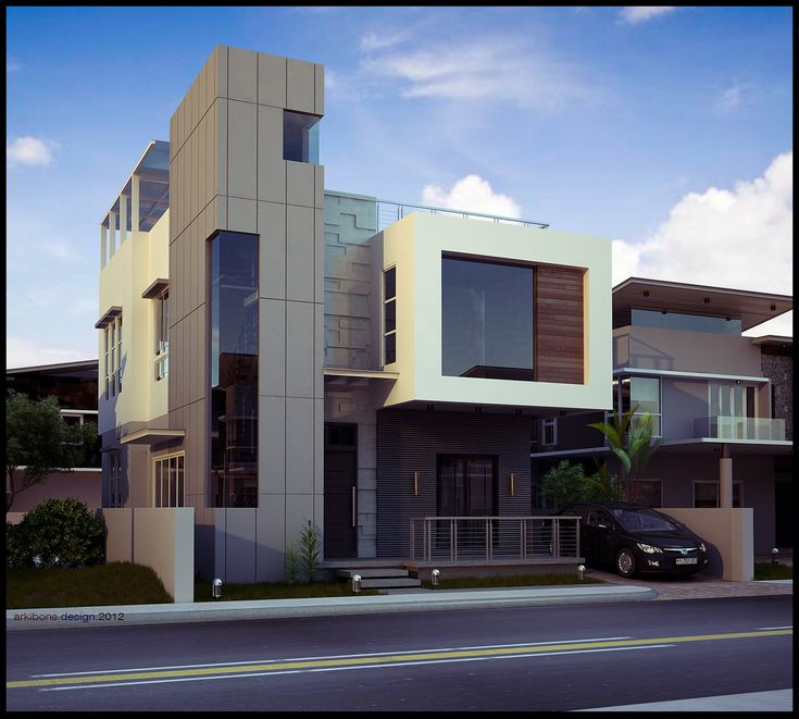 modern home exteriors kahong modern house 3d exterior added views