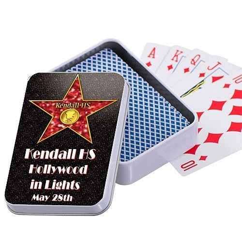 Hollywood Walk of Fame Star Playing Card Case