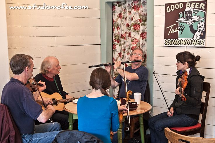 'Live Music Tuesdays' at the Rocket Bakery on Water Street in St. John's NL