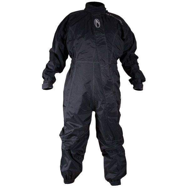 Richa Typhoon Rain Overall Black One Piece Suit Motorcycle Rain Gear Rain Suits