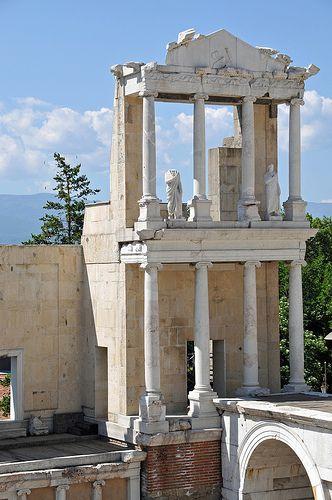 Roman Theatre of Philippopolis, Plovdiv, Bulgaria Rome explains everything