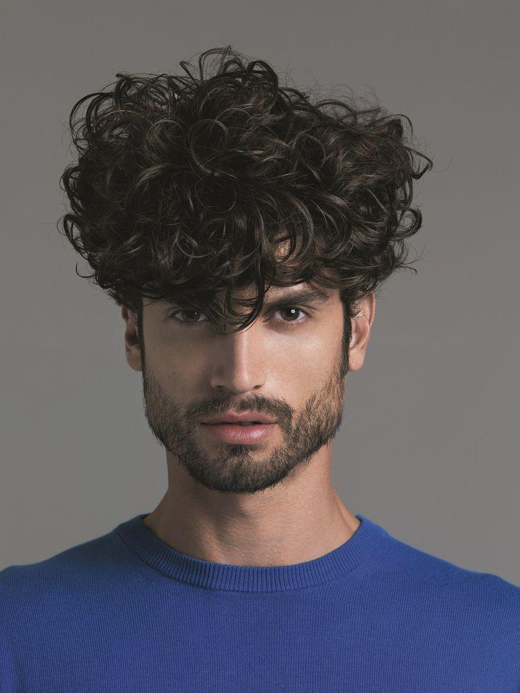 Bien-aimé Oltre 25 straordinarie idee su Tagli capelli ricci uomo su  RH73