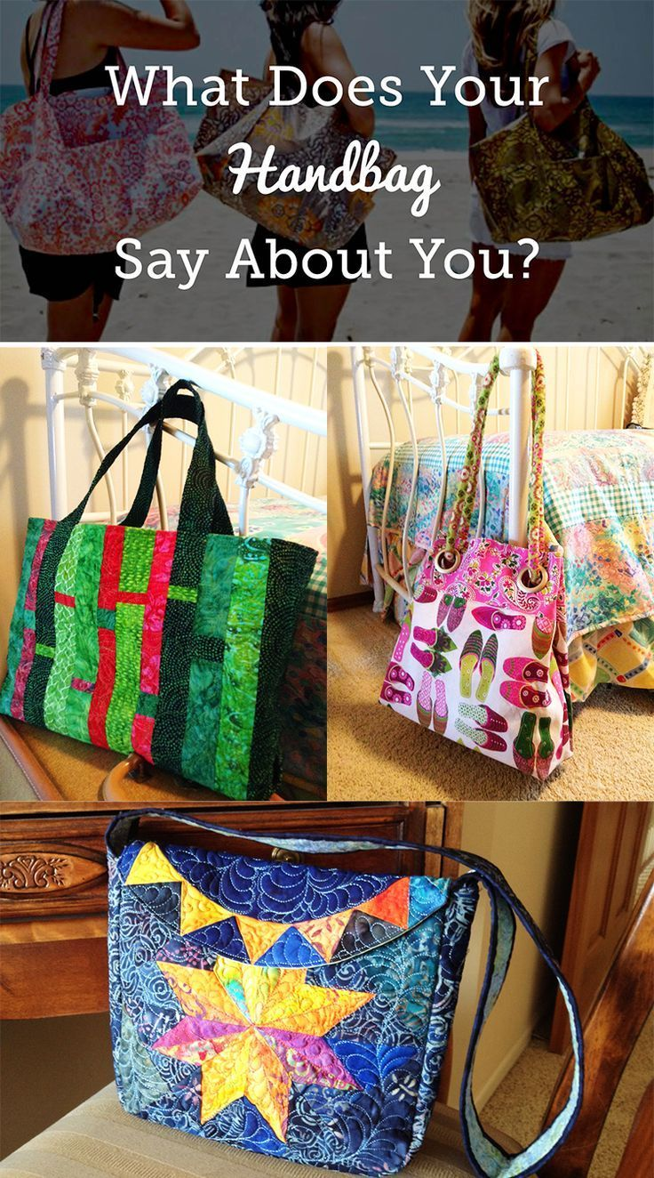 What Does Your Handbag Say About You Sewing Jokes Pinterest