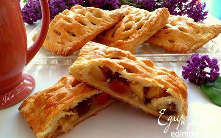 Мини-пироги с яблоками, грушами и сухофруктами | Рецепт ...