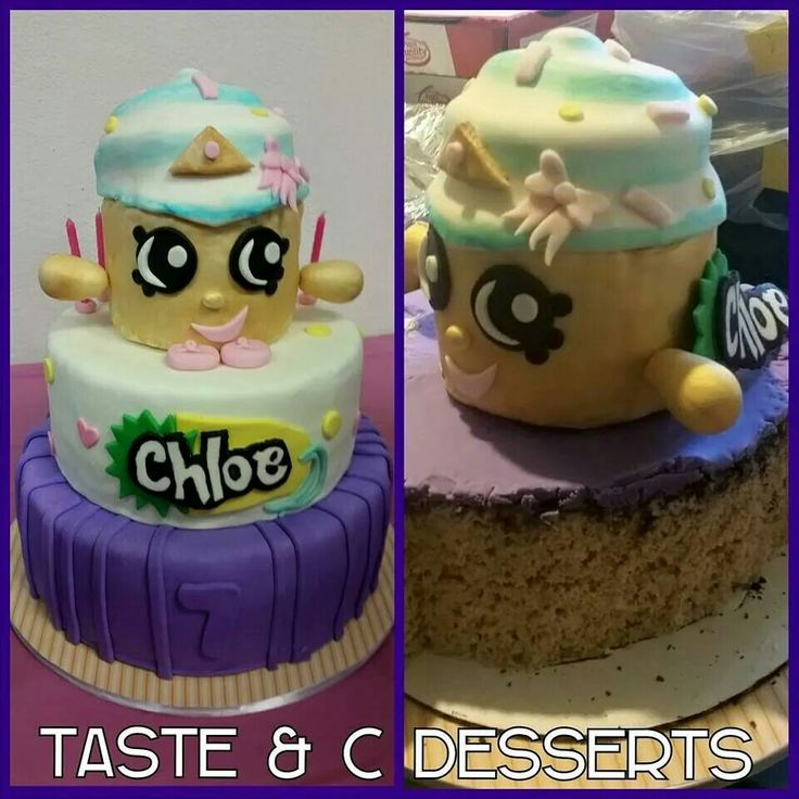 Shopkins Cupcake Queen Cake Made From Cupcakes