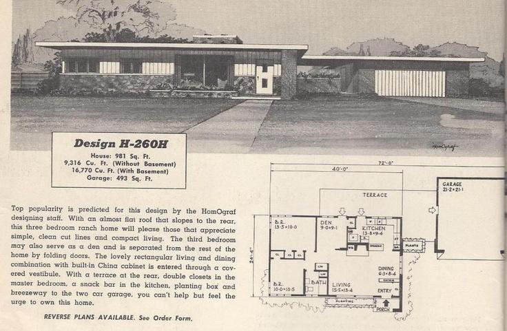 17 best ideas about 1950s house on pinterest 1950s decor for 1950s floor plans