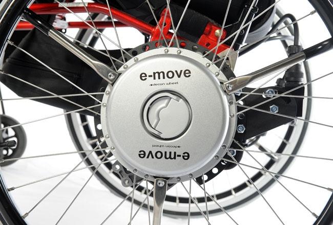 E-move – Elektrische hulpaandrijving voor rolstoelen