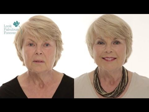 ▶ MakeUp Tutorial for Older Women: Face MakeUp for a Fresh and Youthful Look by Look Fabulous Forever - YouTube