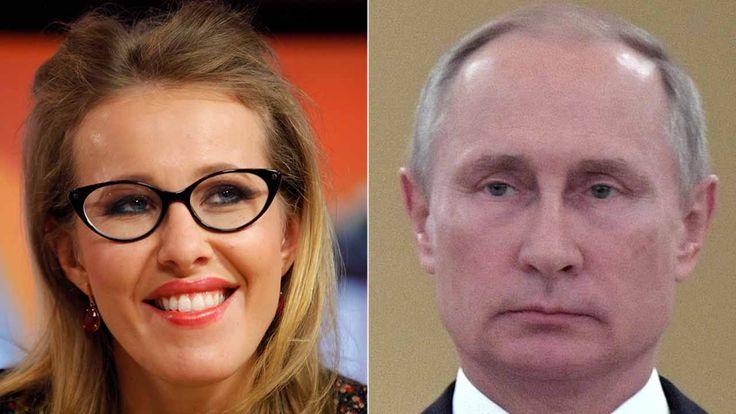 FOX NEWS: Russias version of Paris Hilton runs for president against Putin