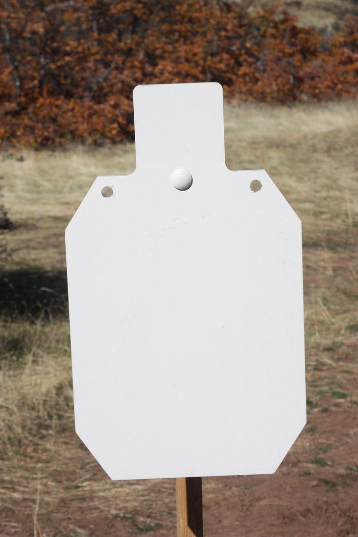 Rogue Shooting Targets, AR-500 Steel Silhouette Target www.rogueshootingtargets.com
