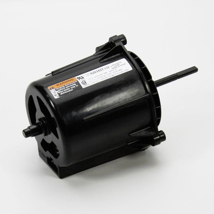 8283457 whirlpool dishwasher circulate drain pump motor