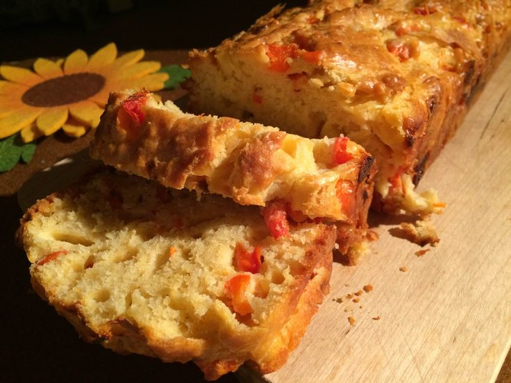 Peppers plumcake: a savory plumcake; it's great and really easy to make!