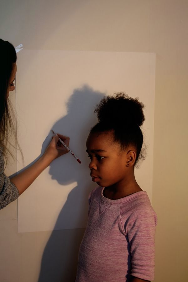 Incredible Production: DIY Family Silhouette class in less than an hour