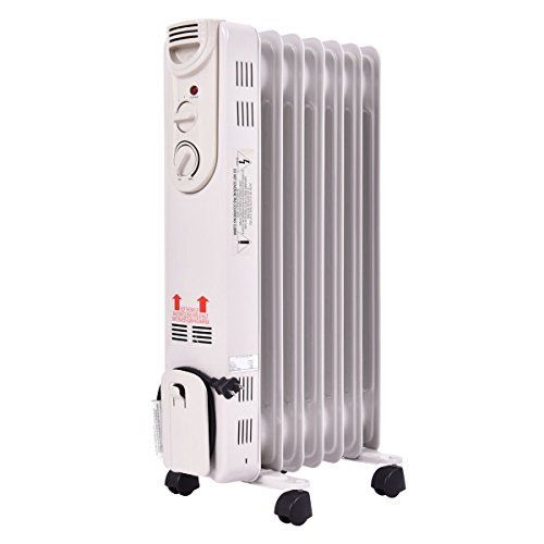 #marineelectronics 1500w Electric Oil Radiator Space Heater 5 Fin Thermostat Filled Room Radiant Portable Heating Home: We are reluctantly…