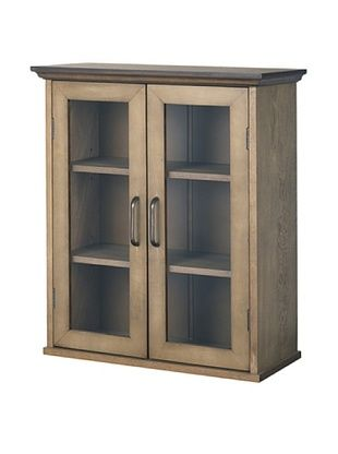 40% OFF Elegant Home Fashions Peyton Double Door Wall Cabinet
