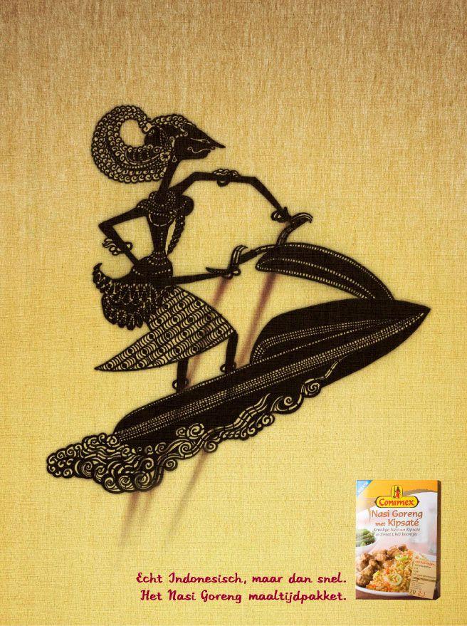 Indonesian food by Conimex