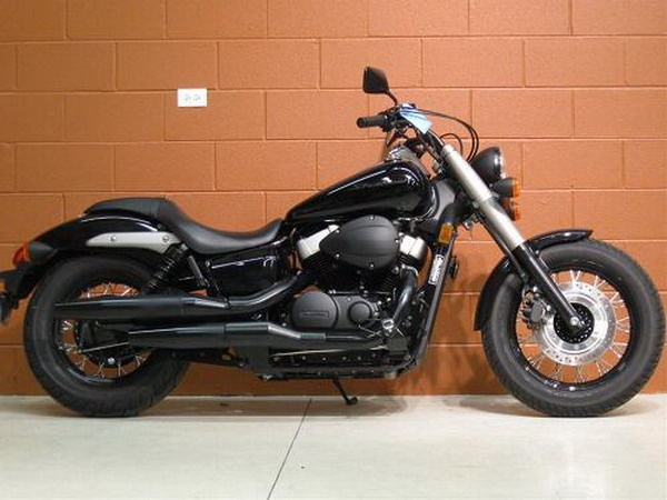 Honda Shadow Phantom.. Love it all blacked out!! :) I want I want!