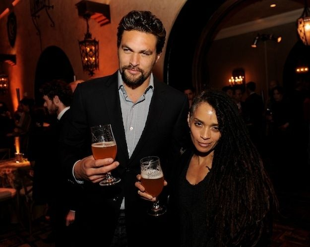 Jason Momoa (Khal Drogo) has two children with Lisa Bonet . They have been together since 2005. Mind blown again