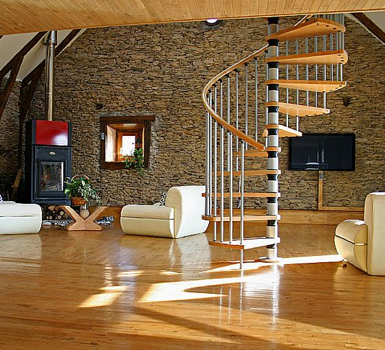 Always Wanted a Cool Staircase Like This One