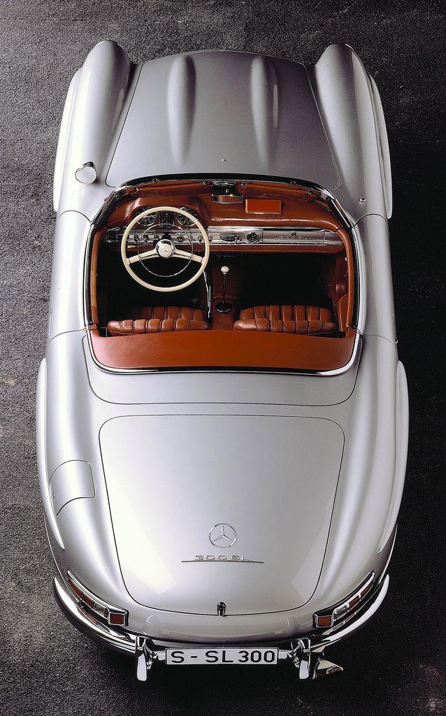 #Mercedes-Benz 300SL Roadster (W198) by Auto Clasico, via Flickr #ClassicCar QuirkyRides.com