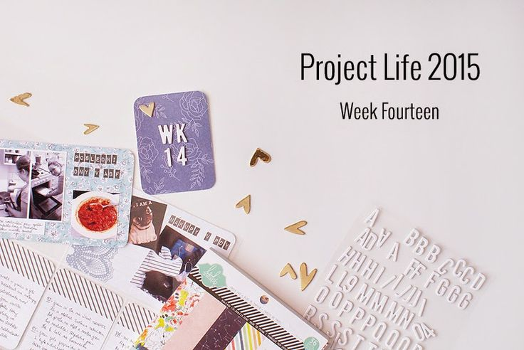 Amca Design: PROJECT LIFE - Year 2015 Week fourteen