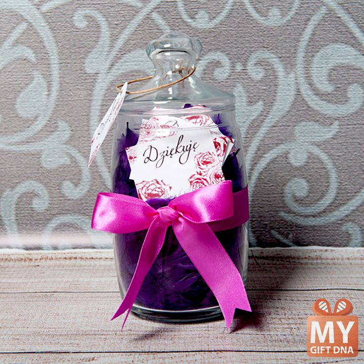 Jar with personalised cards! #mygiftdna #gift #jar #personalised