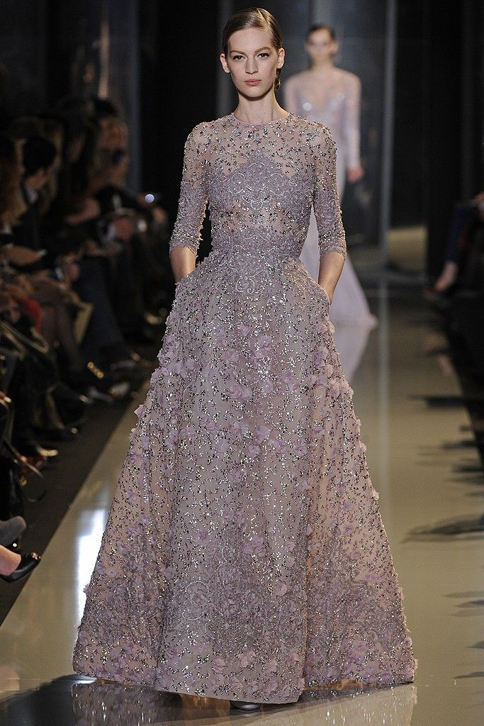 Robe soiree haute couture elie saab