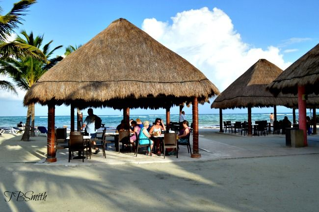 Beach DIning @Palladium Hotel Group Riviera Maya