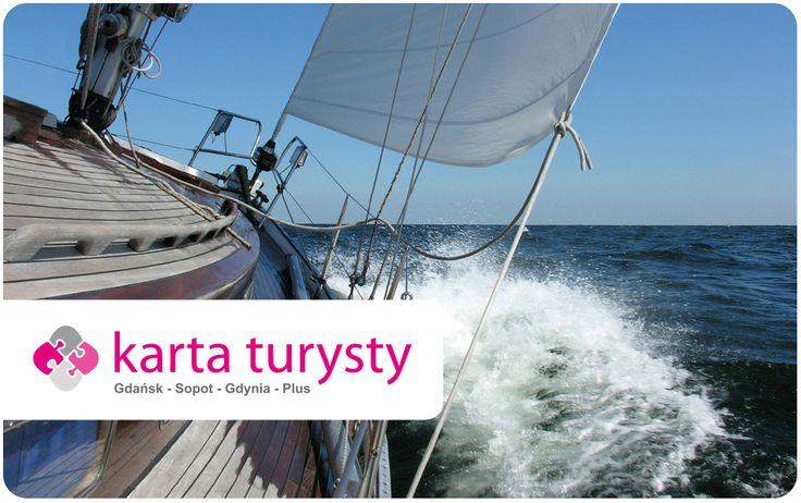 Wybierz swój własny wizerunek Karty Turysty. Oto jedna z propozycji w sezonie 2013: Morze!