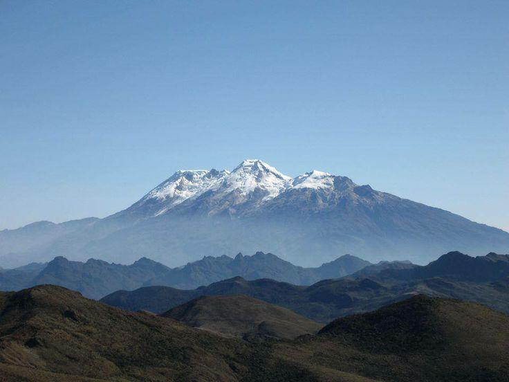 Nevado del Huila, Huila. - Coordillera central.
