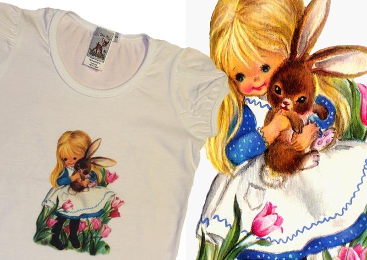 Bunny Love, Easter Tee  http://www.madeit.com.au/storecatalog.asp?userid=38690
