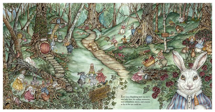 Hopalong Jack and the BLue Bunnies by Jeri Landers 2005