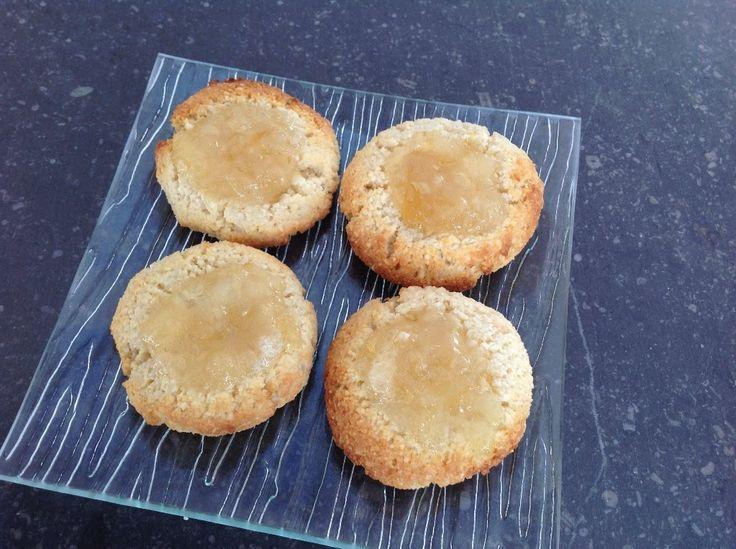 Лимонное печенье из миндальной муки (низкий ГИ)