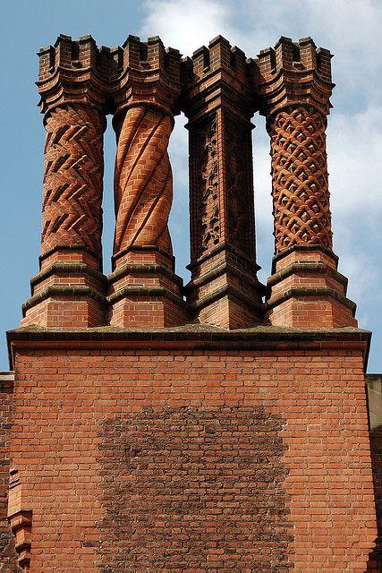 Tudor Chimney | Hampton Court Palace