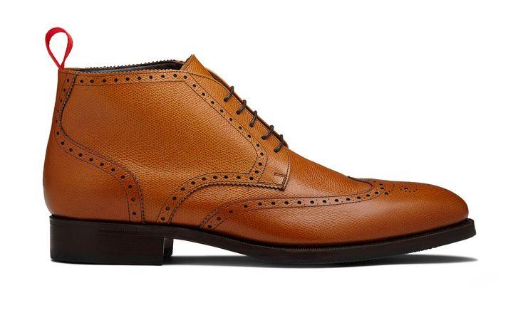 Scarosso – Antonino Full Brogue Ankle Boot | Heldth