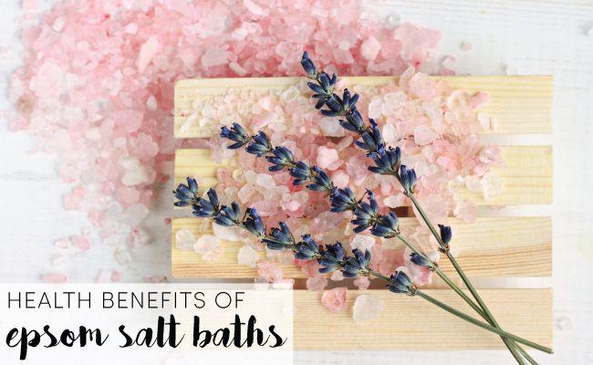 Epsom Salts  http://www.care2.com/greenliving/health-benefits-of-epsom-salt-baths.html
