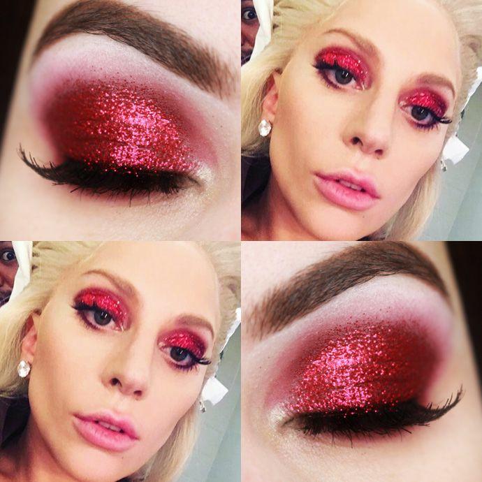 Makeup Tutorial Lady Gaga Super Bowl – Maquiagem Vermelha