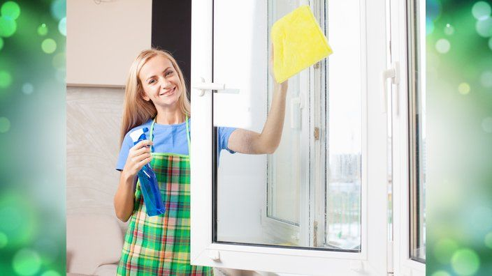 window cleaning solutions- one for all purpose, hard water removal, exterior windows, and even car windows