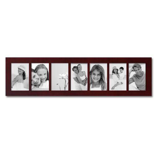 7 opening 4x6 photo frame