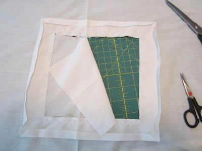 how to finish a chemise neckline