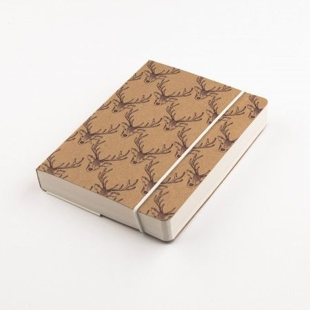 Woodland Trust Stag A6 Notebook - £6.50