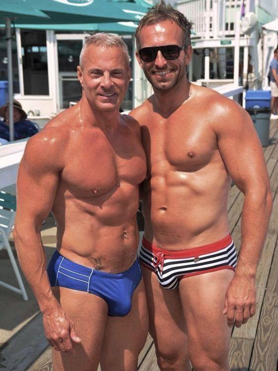 Cute Daddies  DILFS in 2019  Lycra men Hunks men Mature men