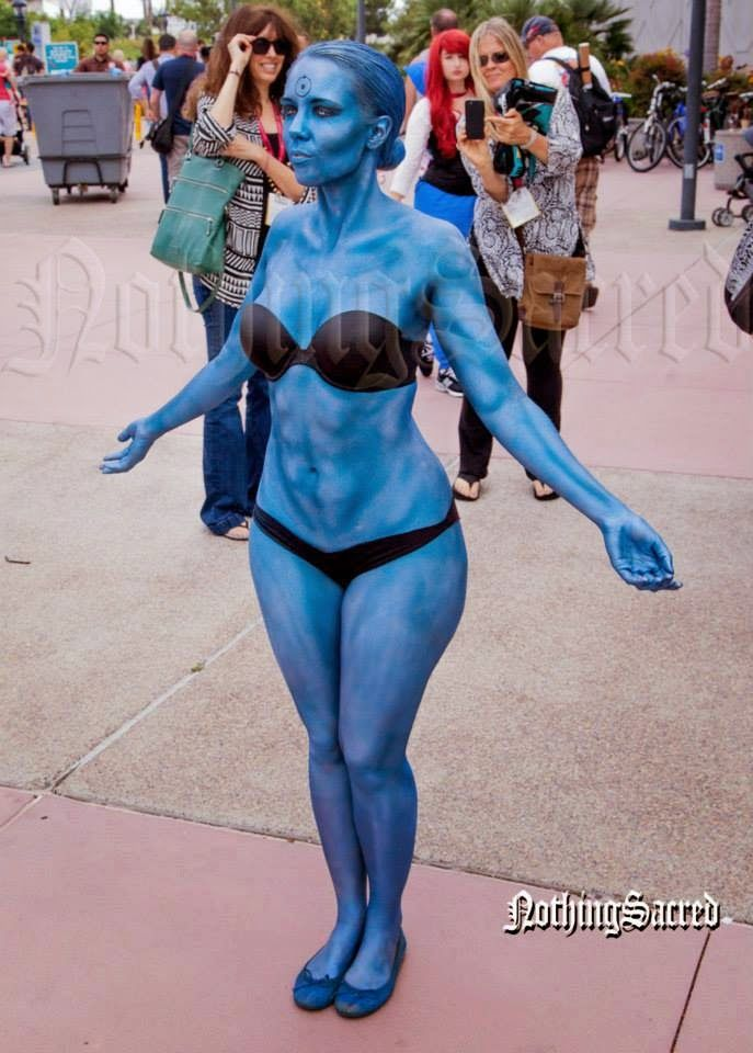 the comic book update doctor manhattan cosplay rule 63