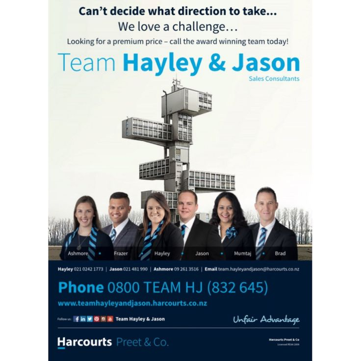 #Southernhomescourier #unfairadvantage #Teamhayleyandjason #advertising #Harcourts #preetandco #team