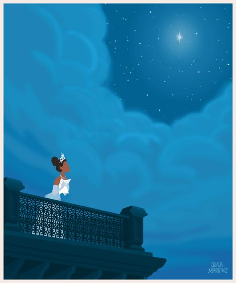 Disney Princess GIF series | Jeca Martinez | Illustration and Animation