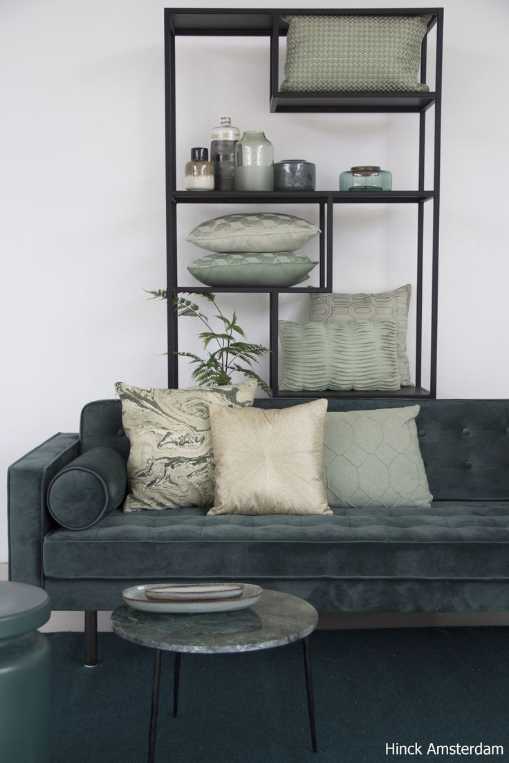 Lovely Mint | Hinck #inspiration #interiordesign #photography #green #dutchdesign #cushion #interior2018 #styling #trends #livingroom #mint #hinckamsterdam