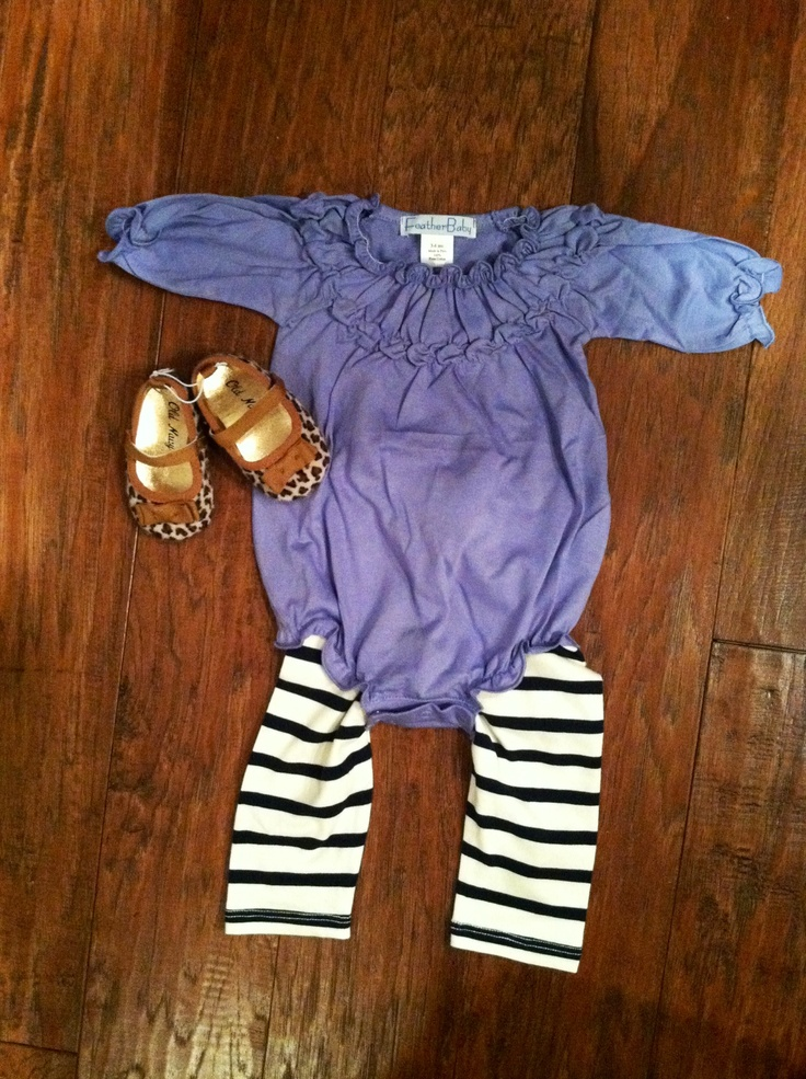 Cute baby outfit and LOVE this blog!