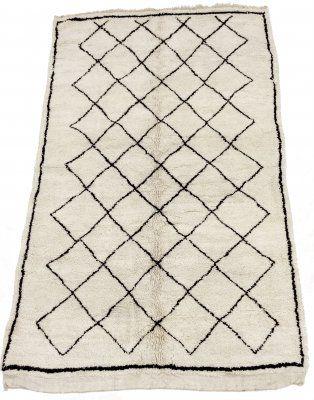 Kelim Marokkaanse Berber tapijt Beni Ouarain 265 x 165 cm