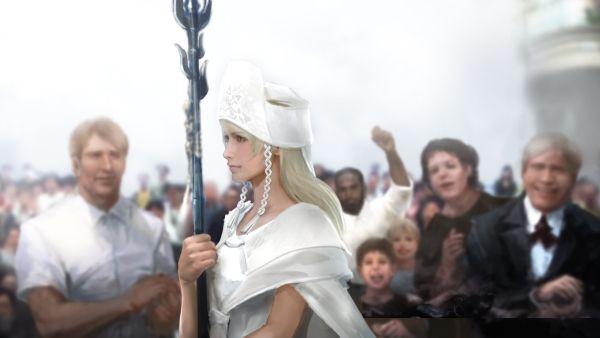 final fantasy XV Luna, l'Oracolo artwork