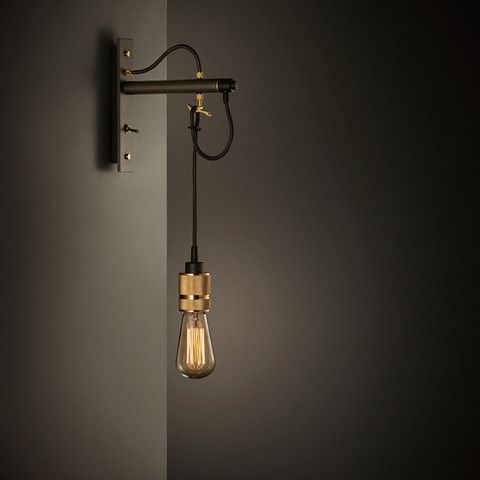 HOOKED Wall / nude - http://store.busterandpunch.com/collections/hooked/lighting